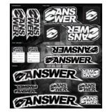 Answer Racing(2012). Decals & Graphics. Stickers