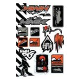 Western Power Sports Snowmobile(2012). Decals & Graphics. Stickers